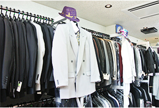 様々なスーツをご用意!