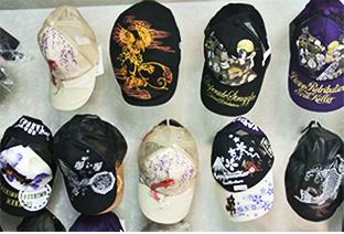 帽子も多数ございます!